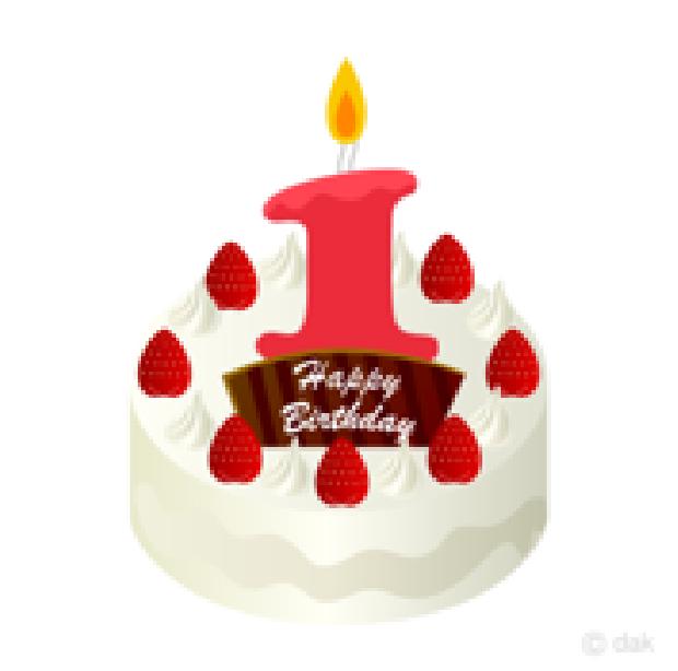 ケーキのイラスト