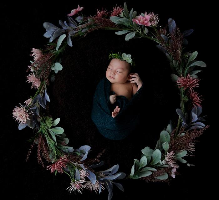 ニューボーン,ボーンアート,新生児,チルフォトグラフィー